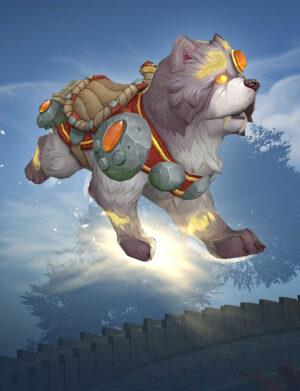 مانت Shu-zen the Divine Sentinel